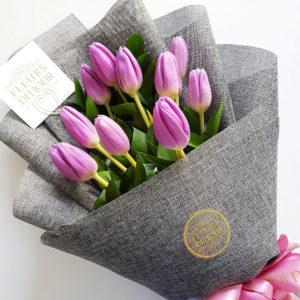 10-stems-Tulips-Bouquet