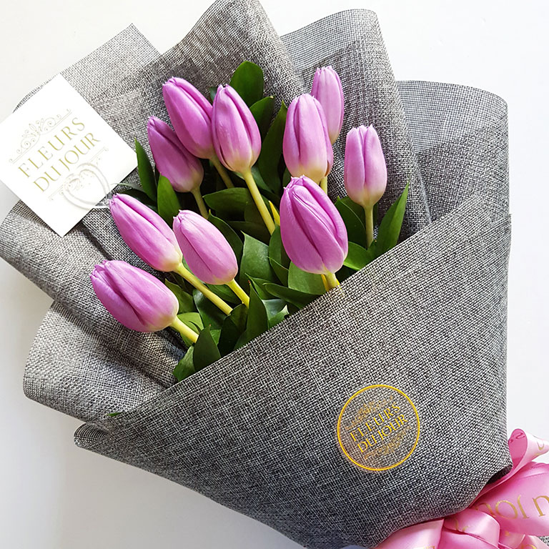 10-stems-Tulips-Bouquet
