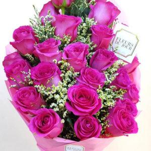2-doz-Fuchsia-Roses-Bouquet