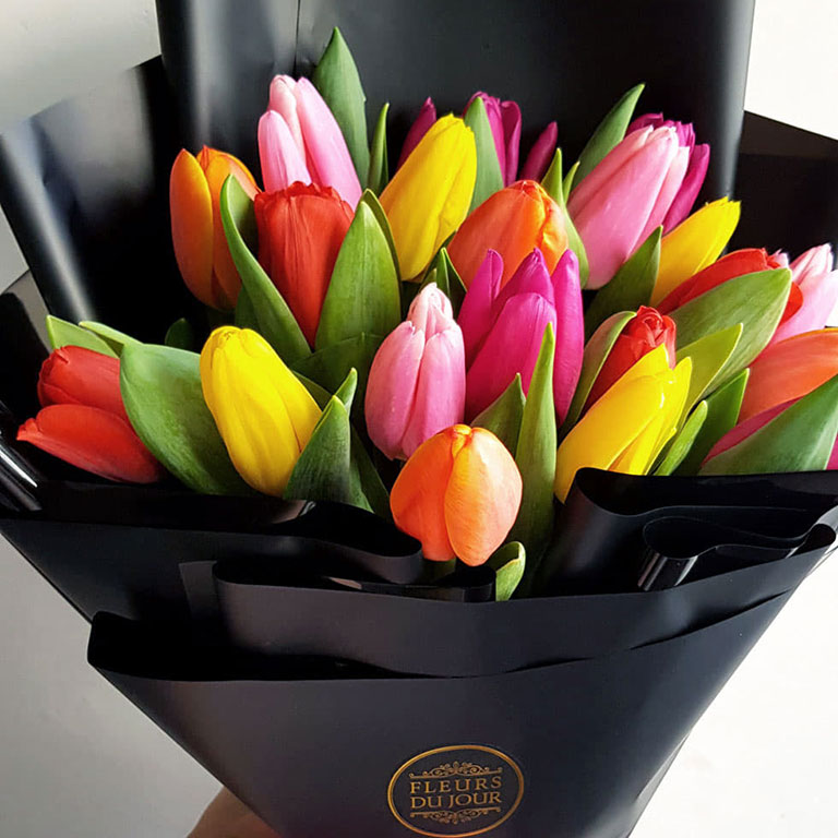 20-stems-Assorted-Tulips-Bouquet-3500