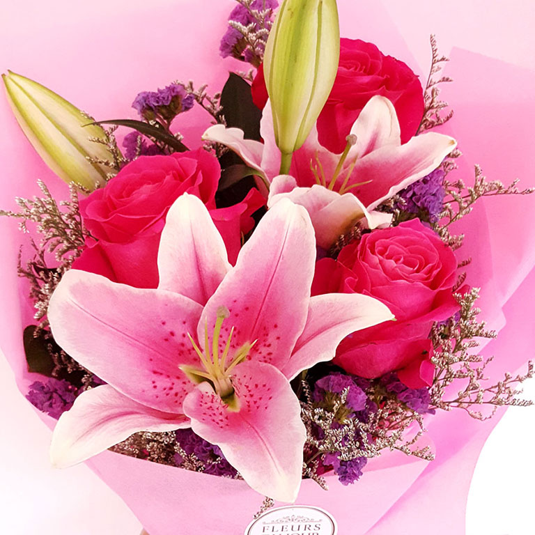 3-stem-Fuchsia-Roses-with-Lilies