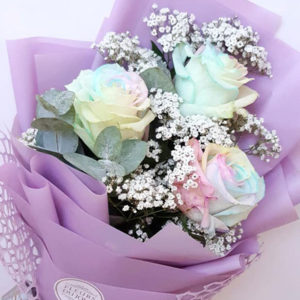3-stems-Pastel-Roses-Bouquet