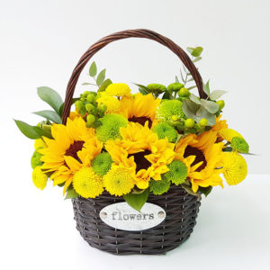 Sunflower-Basket